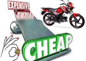 Cheap motorcycles in Bangladesh